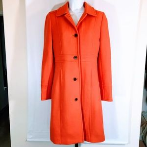 J Crew Classic Lady Day Coat in Double Cloth Wool